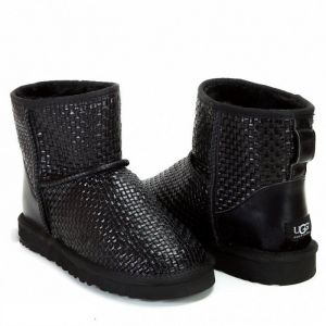 UGG Womens Mini Bottega Black
