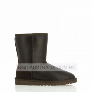 UGG Women's Classic Short Chocolate Metallic