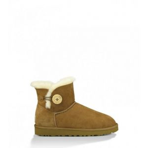 UGG Women's Bailey Button Mini - Chestnut