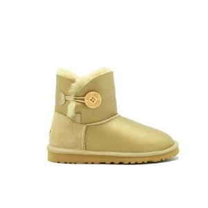 UGG Women's Bailey Button Mini Soft Gold