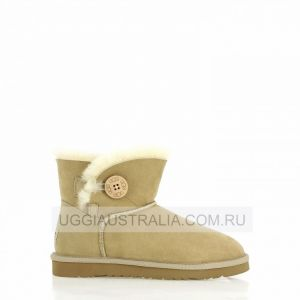 UGG Women's Bailey Button Mini - Sand