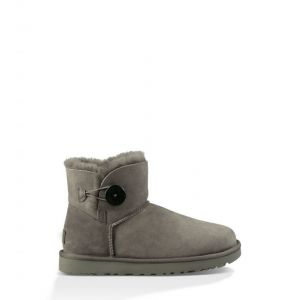 UGG Women's Bailey Button Mini - Grey