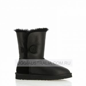 UGG Bailey Button Metallic Black