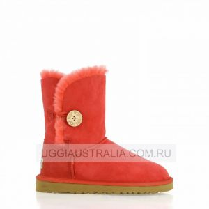 UGG Women's Bailey Button Red