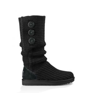 UGG Women's Classic Cardy Black