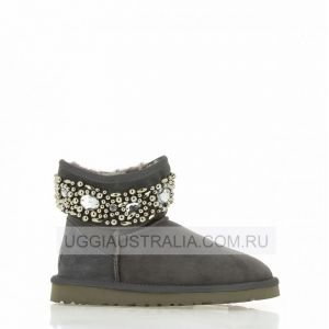 UGG Jimmy Choo Jeweled - Grey