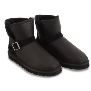 UGG Men Mini Dylyn Black Leather