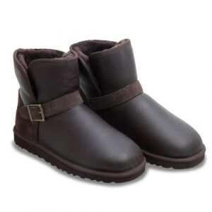 UGG Men Mini Dylyn Chocolate Leather