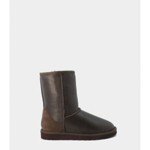 UGG Kids Classic Short Metallic Chocolate