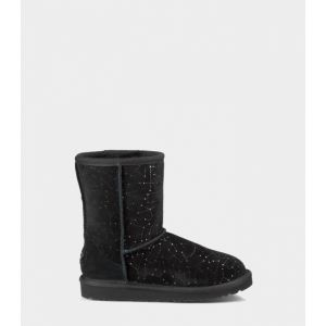 UGG Kids Classic Short Constellation Black