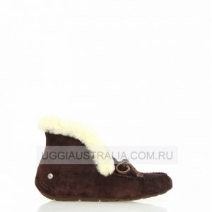 UGG Womens Moccasins Alena Chocolate