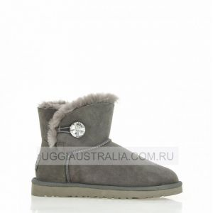 UGG Women's Classic Mini Bling Grey