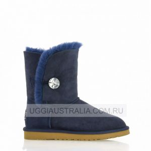 UGG Women's Bailey Button Bling Navi