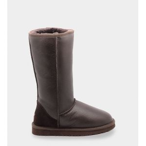 UGG Women's Tall Metallic - Chocolate