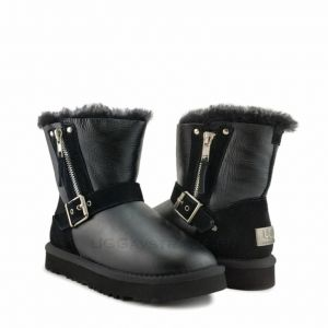 UGG Kid's Blaise Metallic Black