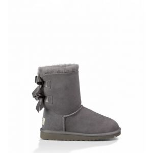 UGG Kids Bailey Bow Grey
