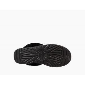 MINI FLUFF QUILTED Black