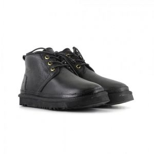 Neumel Boot Black Metallic