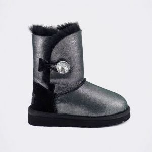 Детские угги Bailey Bling Gliter Black