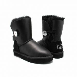 Детские угги Bailey Bling Metallic Black