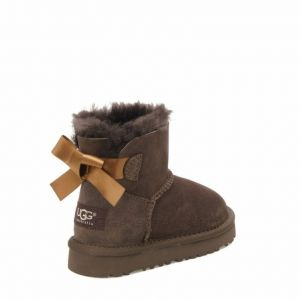 Детские угги Mini Bailey Bow Chocolate