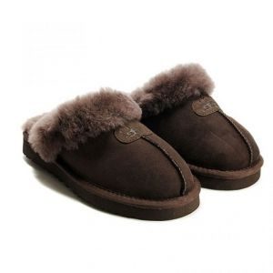 Ugg Man Scufette Chocolate